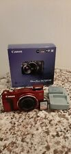 Canon PowerShot SX700 HS  20.3MP Digital Camera 30X Optical Zoom- Red