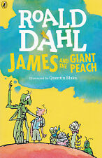 James and the Giant Peach - New Paperback Book