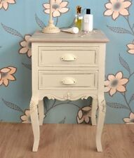 Beech Bedside Tables & Cabinets with 2 Drawers