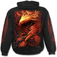 Spiral Direct PHOENIX ARISEN - Hoodie Flames/Mystical/Tribal/Rock/Metal/Hoody