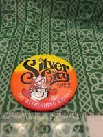 Silver City Casino Vegas Puffless Pete Refreshing Choice Pinback Pin Button