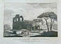 Incisione su rame Pozzuoli Anfiteatro  1794  (P127) Come da foto (le dimensioni