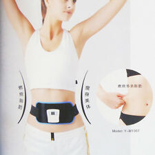ABGymnic Electronic Muscle Arm leg Waist Abdominal Massager Toning Slim Belt Fit