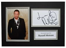 Russell Watson Signed Autograph A4 photo display Music Memorabilia AFTAL COA