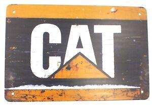 Caterpillar CAT Metal Wall Sign Door Pub 30 x 20 cm