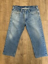 Carharrt B480 DVB Vintage Mens Traditional Fit Blue Denim Jeans W36 L26