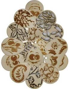 10x Groß Ostern Ornamente aus Sperrholzplatte viele Design Mit Rabatt! osterdeco