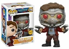 MARVEL Guardians of the Galaxy: Star-Lord CHASE EXCLUSIVE FUNKO POP VINYL FIGURE