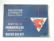 Ancien album la vache qui rit BEL n°2 Benjamin Rabier publicité pub complet 1950