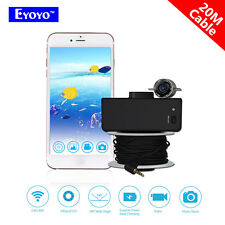Eyoyo Portable Wifi Fish Finder 20M Underwater Fishing Video Camera Light  R2