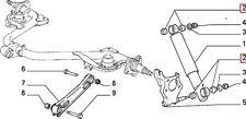 CLASSIC FIAT PANDA 750 1000 INC 4X4  SHOCK ASBORBER RUBBERS MOUNT