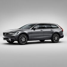 PAINTED BODY SIDE Moldings With CHROME TRIM Insert For: VOLVO V90 2017-2020