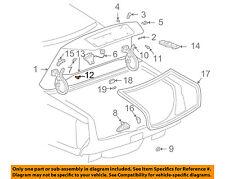 GM OEM-Trunk Lid Bumper 25757473