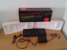 SINCLAIR ZX SPECTRUM +2A 128K CON CAJA + CABLE RGB VERSION ESPAÑOLA MAGNIFICO!!