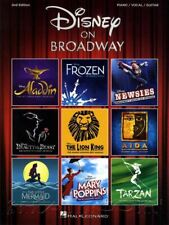 Disney on Broadway 2nd Edition Piano Vocal Guitar Music Book SAME DAY DISPATCH