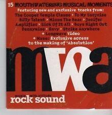 (CV319) Rock Sound Music With Attitude Volume 43 - 2002 CD