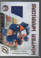 MICHAEL GRABNER 2010-11 ZENITH WINTER WARRIORS JERSEY CARD # MG