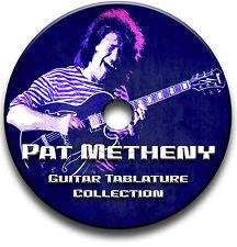 PAT METHENY JAZZ GUITAR & PIANO TABS TABLATURE SONG BOOK SOFTWARE CD