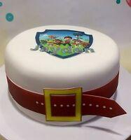 Paw Patrol Edible Cake Topper Personalized Edible Belt Cake Wrap