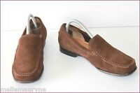 CLARKS Mocassins Souples Tout Cuir Marron T UK 6.5 / T 7 US / T 40 FR BE