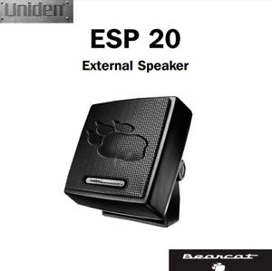 NEW Bearcat Uniden ESP 20 / ESP20 External Extension Speaker 20 Watts CB