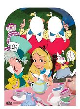Alice In Wonderland Disney Child Size Stand-in Cardboard Cutout Tea Party