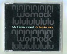 Lulu & Bobby Womack - I'm Back For More - Scarce 1993 Cd Single