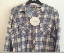 Marks and Spencer Women's Check Cotton Tops & Shirts