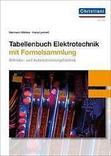 Tabellenbuch Elektrotechnik von Hans Lennert (2020, Gebundene Ausgabe)