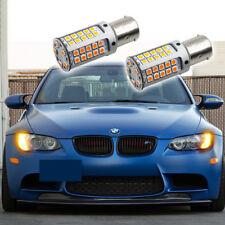 2X Error Free Amber LED Turn Signal Light Bulbs For BMW 1 2 3 4 Series X1 X3 X5