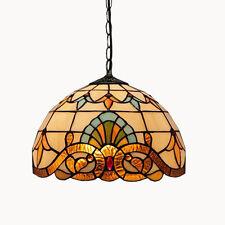 Tiffany Mediterranean Sea Pendant Light Hanging Lamp Chandelier Ceiling Fixtures