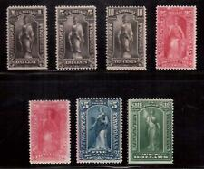 USA 1895-97 LOT OF 7 MINT NEWSPAPER STAMPS !!  C99