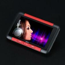 8GB Slim MP3 MP4 MP5 Music Player With 4.3'' LCD Screen FM Radio Video Movie Red