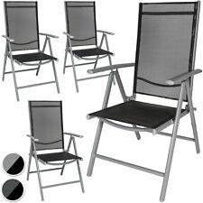 Aluminio Sillas de jardín plegable alu sillón balcón terraza NUEVO