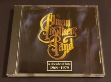THE ALLMAN BROTHERS BAND / A DECADE OF HITS 1969-1979 / CD / MINT