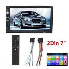 """2Din 7"""" 1080P Touch Screen Stereo FM Video Car Multimedia MP5 Player Head Unit"""