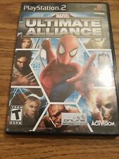 PS2/PlayStation 2 Video Game Marvel Ultimate Alliance (COMPLETE)
