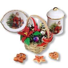 Reutter porcelana weihnachtsgesteck navidad herradura 1.890/8 muñecas Tube 1:12