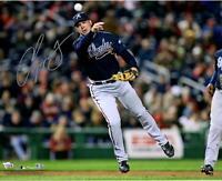 "Chipper Jones Atlanta Braves Autographed 16"" x 20"" Throwing Photograph"