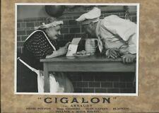 ARNAUDY PHOTOGRAPHIE de Roger CORBEAU CIGALON de PAGNOL 35*27 -10- 1935