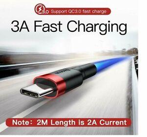 Câble USB type C chargeur rapide 3.0   1 mètre Baseus®