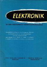 Casco electrónica en la mediación telefónicas tecnología piezas tubos 1956