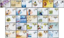 Serbia 2008 Complete year all FDC issues (26 covers)