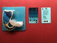 CS1874 2018 China Starbucks Mini Limited Edition Scales card 1p with B key chain