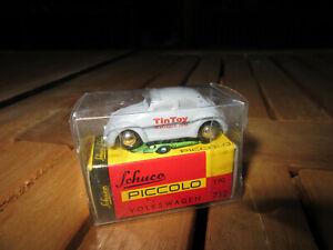 Schuco-Piccolo-712  VW Käfer TinToy-MAGAZIN 1996 unbespielt