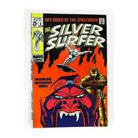 Silver Surfer (1968 series) #6 in Fine + condition. Marvel comics [*pm]