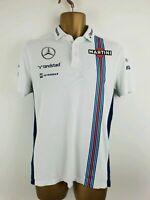 Mens Williams Martini Racing Randstad Hackett London Polo T-Shirt Size S