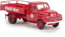 Brekina 35329 - 1/87 OPEL Blitz Bierpritsche-blattl Bière-Neuf