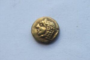 ANCIENT GREEK GOLD ELECTRUM PHOKAIA IONIA HEKT COIN 6/5th CENTURY BC