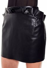 Bec & Bridge Leather skirt size 10 - brand new with tags